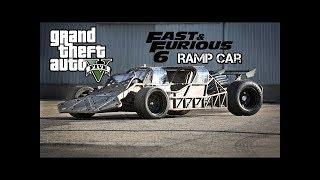Gta v fast & furious 6 RAMP CAR!!!!