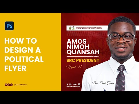 How To Design A Political Flyer In Photoshop