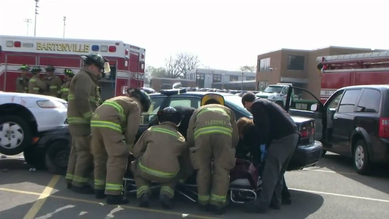 Prom Accident Reenactment - YouTube
