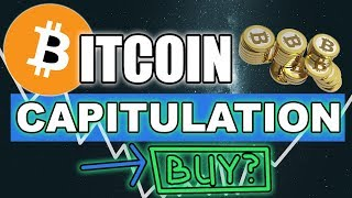 Bitcoin Capitulation - What would It Look Like?