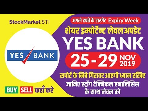 Yes Bank Share News | Yesbank Weekly Target | YESBANK Share Price | Bse Nse Yes Bank 25 To 29 Nov