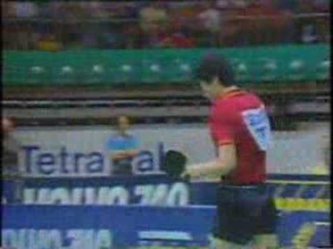 1985 Waldner (SWE) vs chen xinhua (CHN) Table Tennis