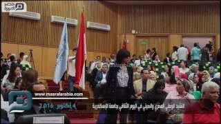 بالفيديو| جامعة الإسكندرية تكرم الوفد الصيني في احتفالية اليوم الثقافي