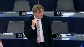 Guy Verhofstadt II 30 May 2018 plenary speech on the Future of Europe