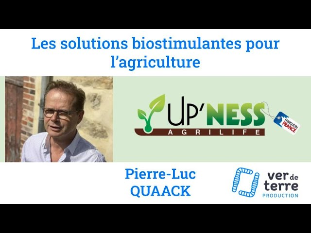 Les solutions biostimulantes pour l'agriculture - Upness - Projet FOOD SCAN