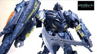 【リーダークラス】最後の騎士王 トランスフォーマー TLK-19  メガトロン ヲタファの変形レビュー / Transformers The Last Knight Leader MEGATRON
