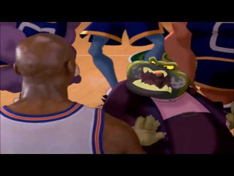 Space Jam Say Goodbye to Mr Swackhammer in Pacman Sound