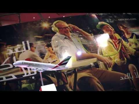 Emirates Globe at Arabian Travel Market - Unravel Travel TV