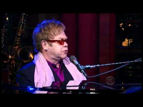 "Elton John & Leon Russell - ""Hey Ahab"" 2/9 Letterman (TheAudioPerv.com)"