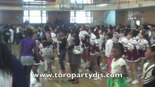 Step, Dance & Cheer 2010 Competition at DeWitt Clinton HS - Toro Party DJs - NYC DJ