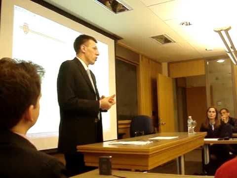 Dorin Chirtoaca at the Harvard Kennedy School of Government (1)