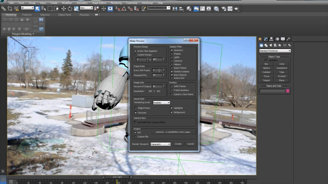 3dcoach tutorial 3ds max grab viewport youtube for Programas de arquitectura 3d