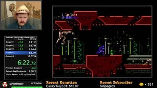 Batman: The Video Game NES speedrun in 10:04 by Arcus