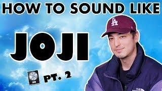 "How to Sound Like JOJI - ""Sanctuary"" Vocal Effect - Logic Pro X"