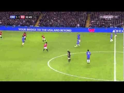 Ryan Bertrand vs Manchester United (31st October 2012)