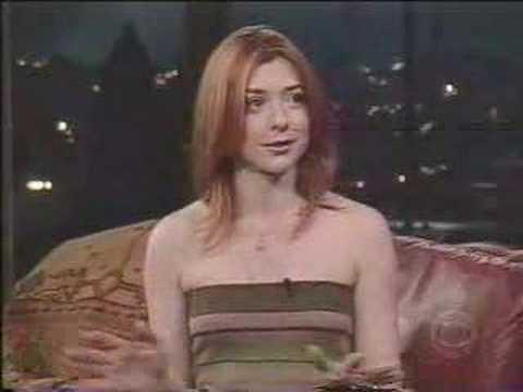Alyson Hannigan - [May-2003] - interview (part 1)