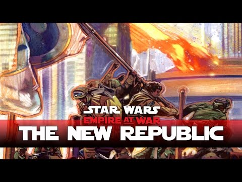New Republic - Taking Command!  Thrawns Revenge - Ep1- (Star Wars RTS Lets Play)