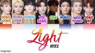 [3.34 MB] ATEEZ (에이티즈)- Light (Color Coded Lyrics Han/Rom/Eng)