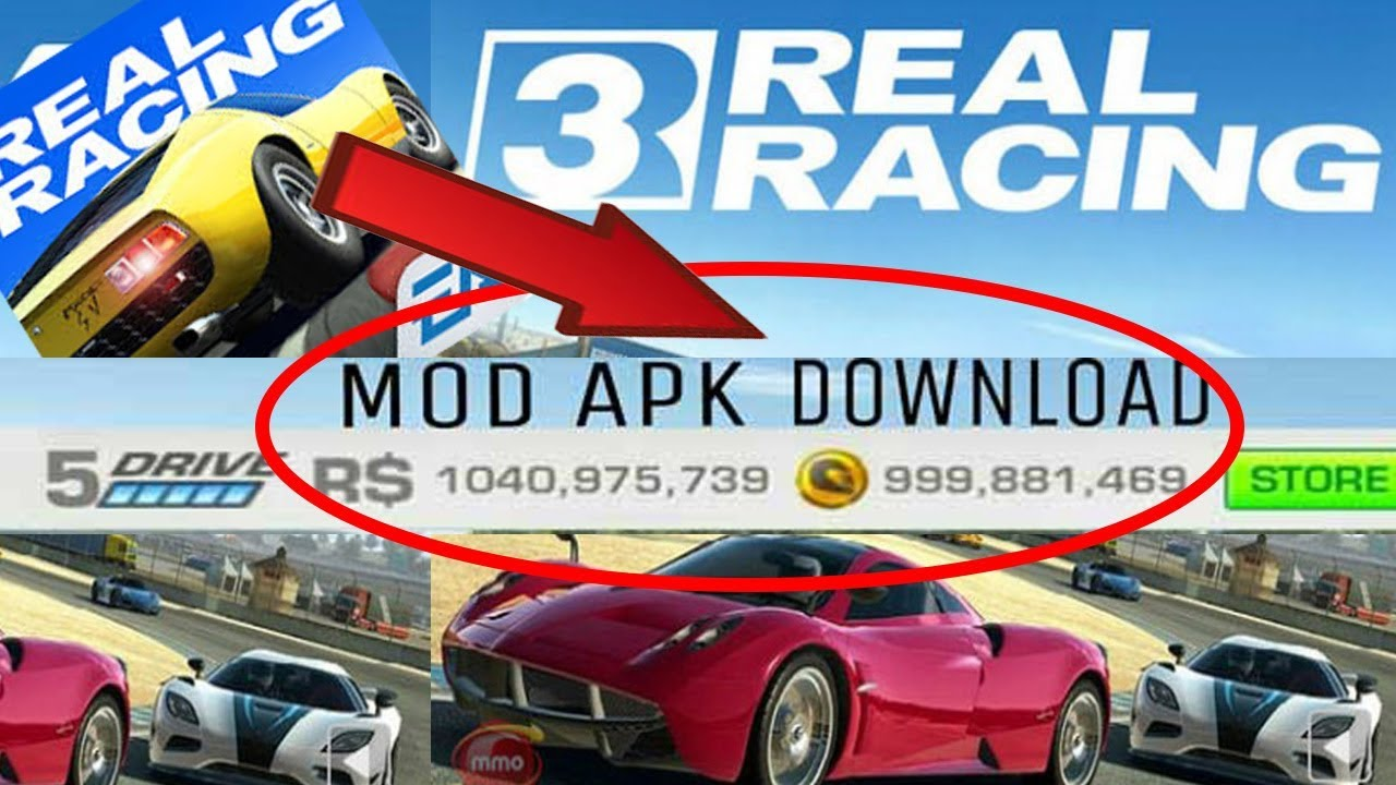 Download Real Racing 3 Mod Gold Money Free On Android Hack
