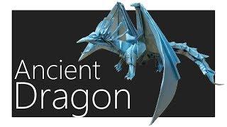 Ancient Dragon Origami Tutorial (Satoshi Kamiya)
