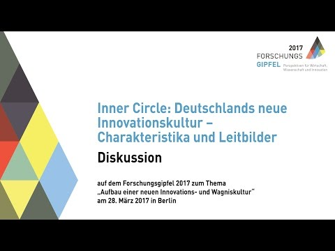 Forschungsgipfel 2017 - Diskussion InnerCircle 1