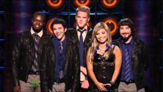 "9th Performance - Pentatonix - ""OMG"" By Usher - Sing Off - Series 3"