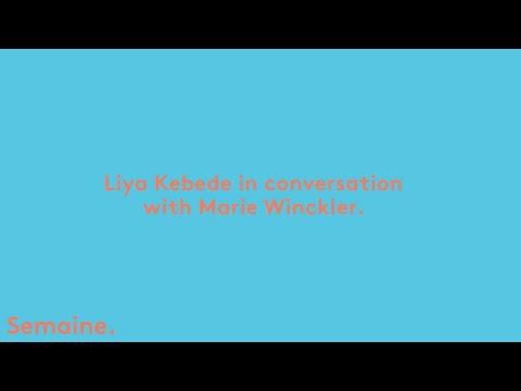 Liya Kebede in conversation with Marie Winckler.