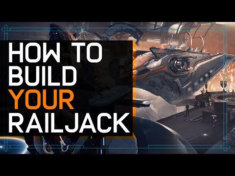 Railjack: How To Build Your Railjack & Everything Needed In Advance :Warframe