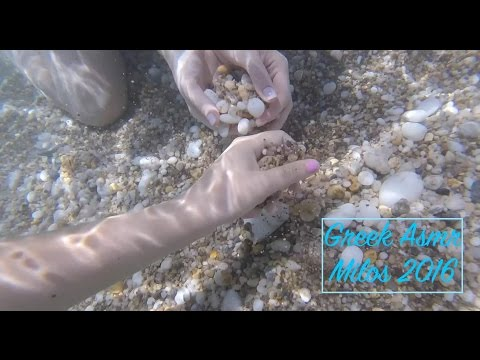 Greek Asmr ~ Relaxing Underwater sounds/snorkeling in Milos 2016