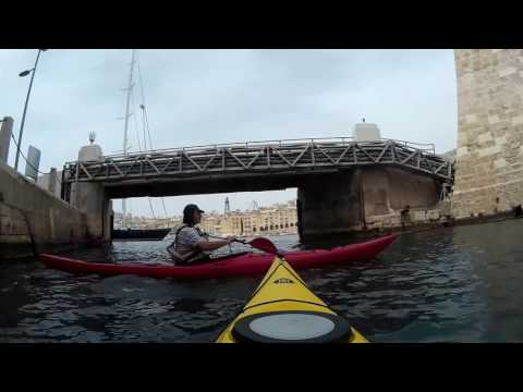 Paddle from Manoel Island to the Grand Harbour 28-05-16