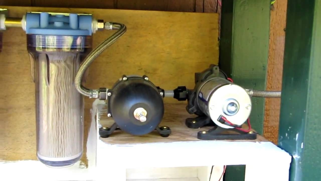 Raven Acres Cabin Water System Youtube