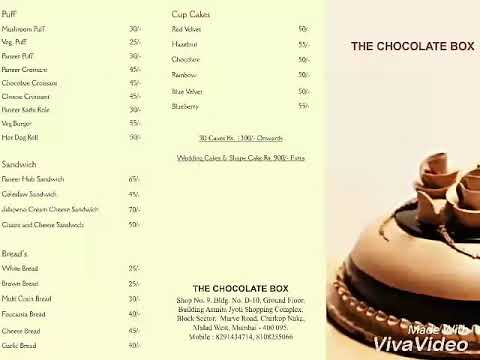 The chocolate box tcb