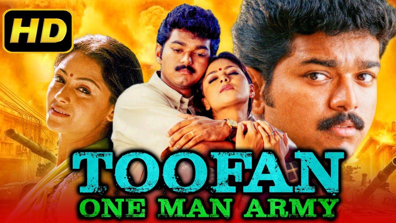 Thalapathy Vijay's Toofan One Man Army (Udhaya) Hindi Dubbed Full Movie   Simran, Nassar, Vivek