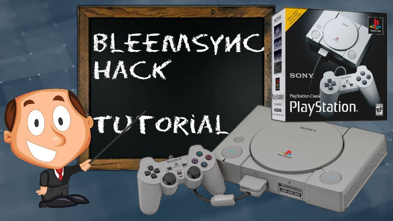 Playstation 1 One Mini Classic Console Bleem Sync Hack – Add More