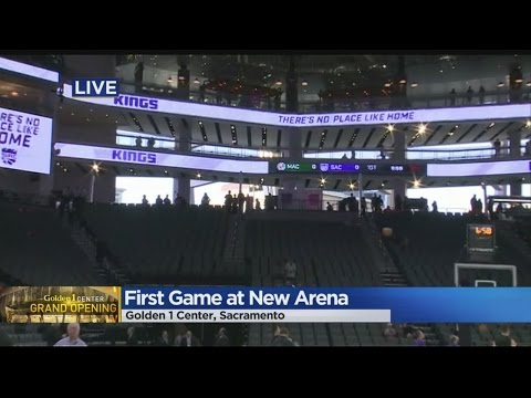 Kings Play First Home Game At Golden 1 Center