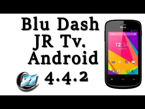 Blu Dash JR Tv. V 4.4.2 Bold Like US.