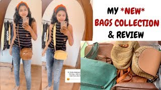 My NEW Bags Collection - Cross Body Bag for Daily Use Side Bag for College Girl 2020 - AdityIyer