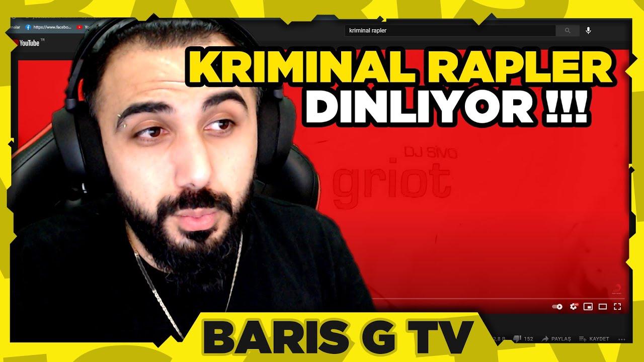 Barış G KRİMİNAL RAPLER (DJ Sivo feat. Ben Fero x Cashflow) DİNLİYOR !!!