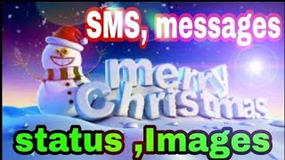 Merry Christmas and Happy New year SMS, messages, images ,status...