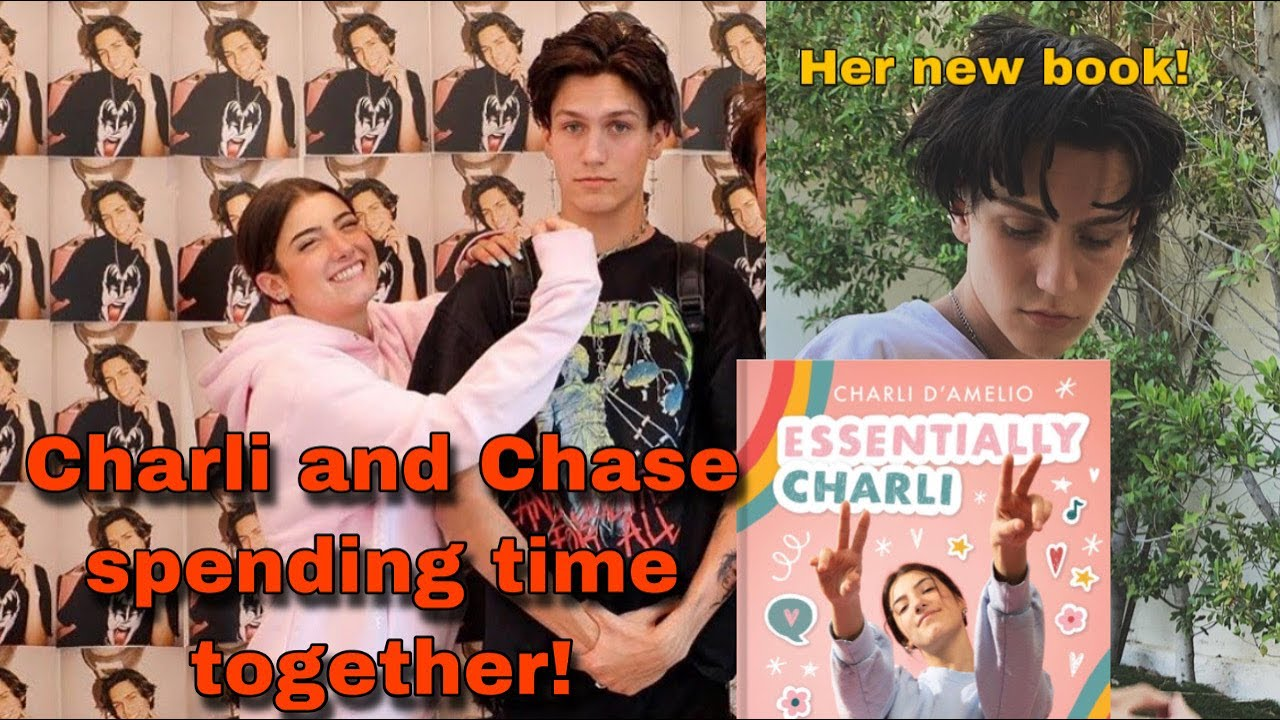 Charli D'Amelio Surprised with Chase Hudson photos! She wrote a book! -  YouTube