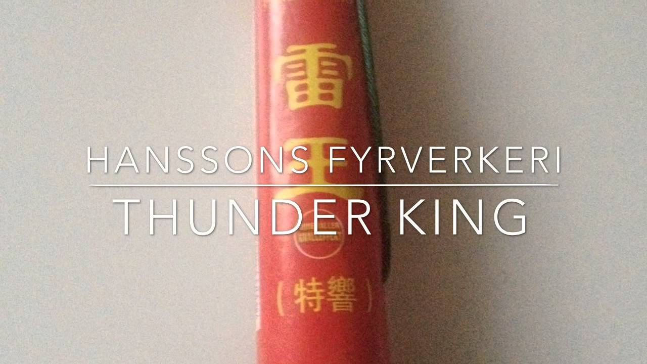 snygg rabatt super kvalitet Svea Fireworks monster Airbomb Hanssons Thunder King by Gurken