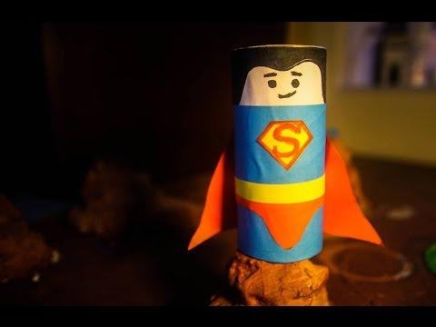 סופרמן מנייר טואלט