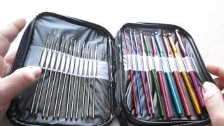 Обзор посылки из Китая (набор крючков для вязания).