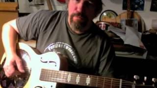 Stella resonator guitar