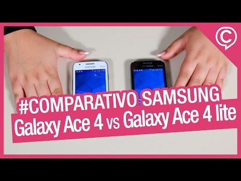 Samsung Galaxy Ace 4 vs Ace 4 Lite [Comparativo] - Cissa Magazine