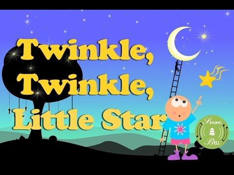 Twinkle Twinkle Little Star   Τop 10 Instrumental Lullabies with Lyrics for Karaoke