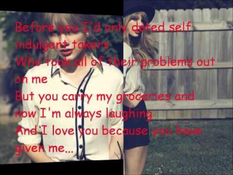 Taylor Swift Stay Stay Stay Lyrics
