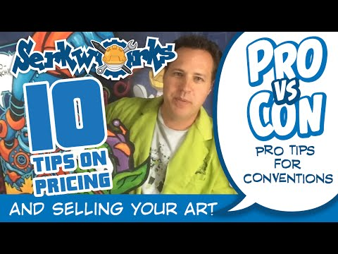 Pro vs Con: 10 Tips to Pricing and Selling Your Art!