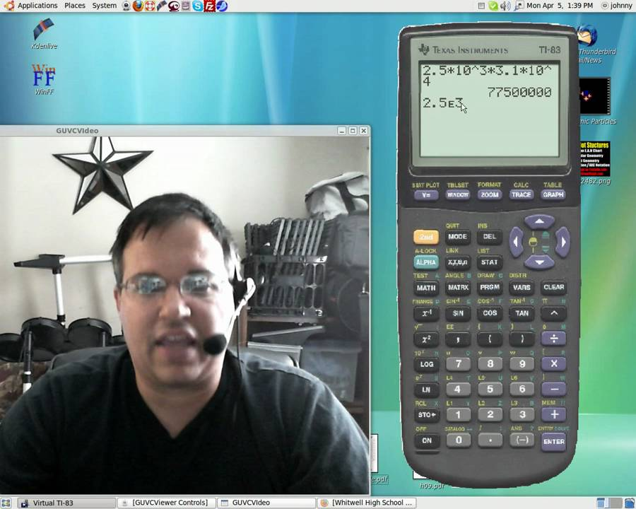 How To Use A Ti 83 Calculator Correctly For Scientific Notation