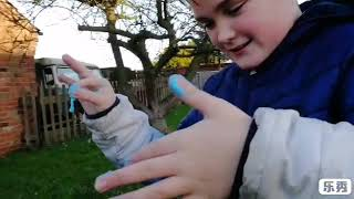 Slime review with molly and izzy fun and games.!!!!